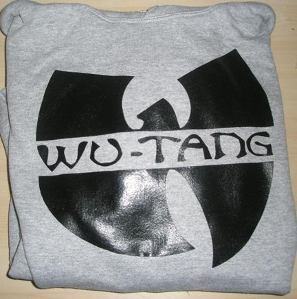 Wu tang clan grey hoodie hooded sweatshirt  all by anonymousattire