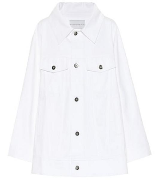 Matthew Adams Dolan Cotton-blend jacket in white