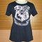 Lady shirt hogwarts alumni school wizard harry potter tshirt screen print dark gray fancy hogwarts clothing tee teen girl t shirts s m l xl