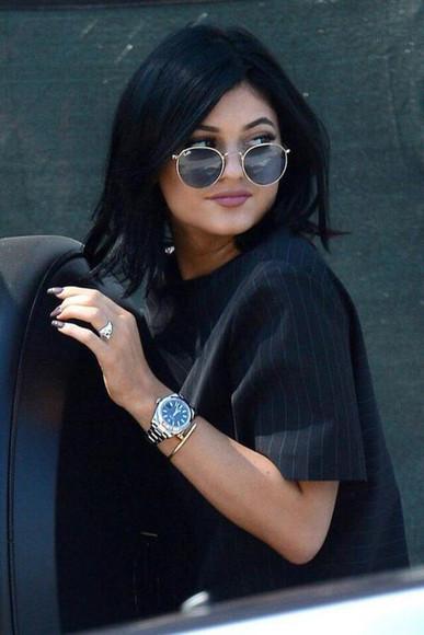 kylie jenner sunglasses blouse