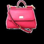 bag,miss siscily top handle bag,dolce and gabbana