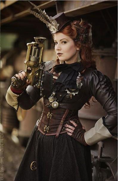 Steampunk Fashion: Top, Steampunk Clothing, Steampunk, Steampunk Accessories