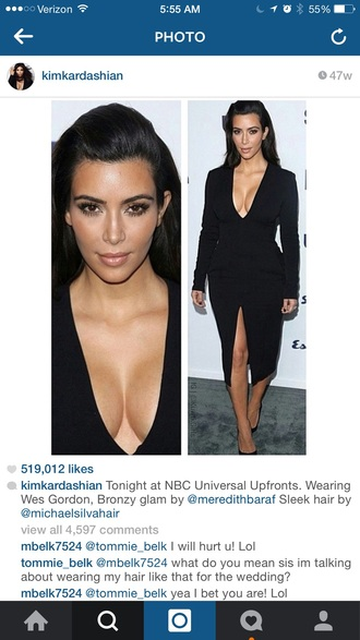 dress kim kardashian black dress kim kardashian dress