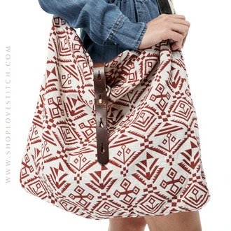 bag lovestitch tote bag aztec coachella festival boho bohemian hobo bag purse