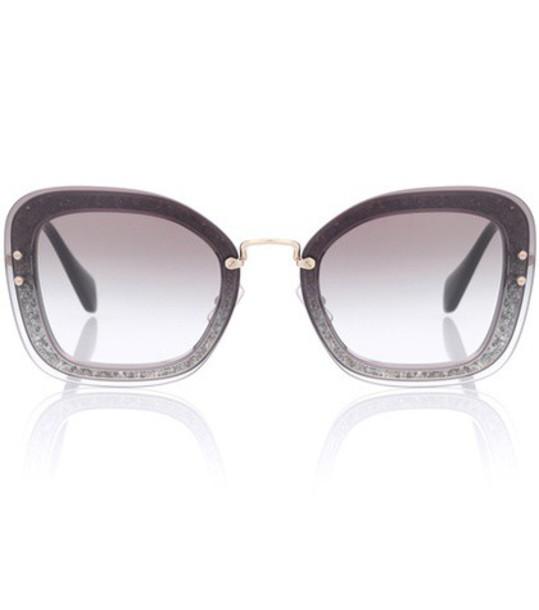 Miu Miu sunglasses grey