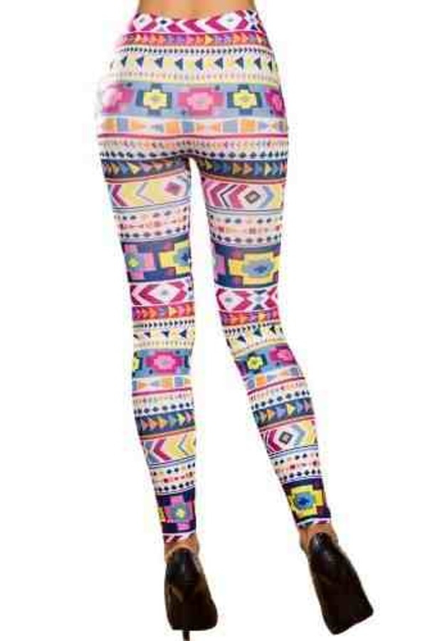 pants aztec leggings