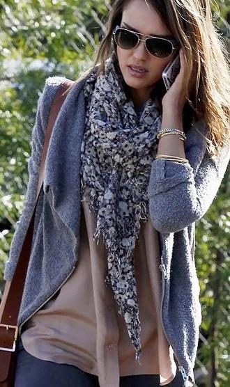 scarf scarf jessica alba