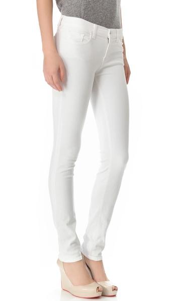 J Brand Mid Rise Rail Jeans | SHOPBOP