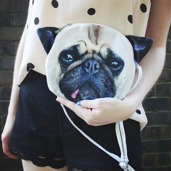 bag dog pug accesories