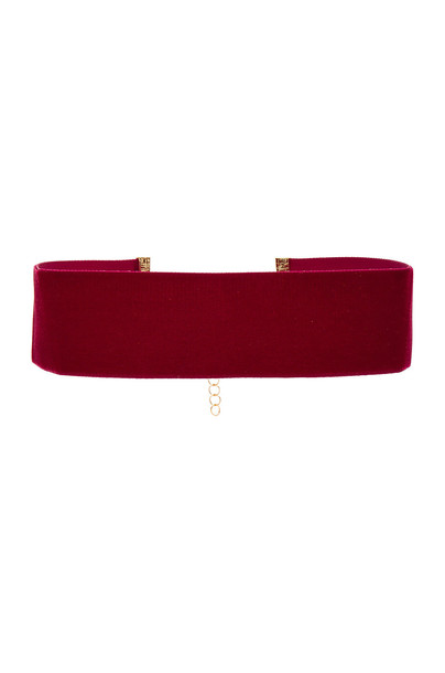 Frasier Sterling velvet burgundy jewels