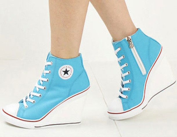 shoes heels converse wedges wheretoget