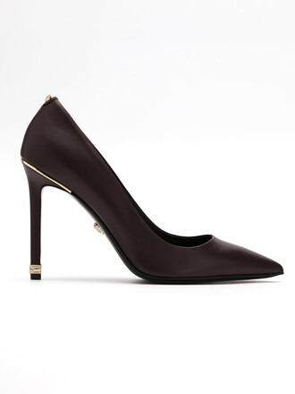 pointed toe pumps women pumps leather red shoes