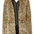 ROMWE | ROMWE Leopard Print Long Sleeve Coat with Hood, The Latest Street Fashion