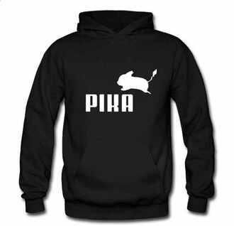 hoodie pikachu pokemon jacket sweatshirt