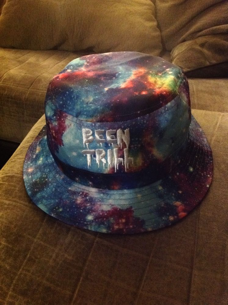 712fb2944 BEEN Trill HBA Galactic Galaxy Cosmic Bucket Hat Sold Out in Stores | eBay