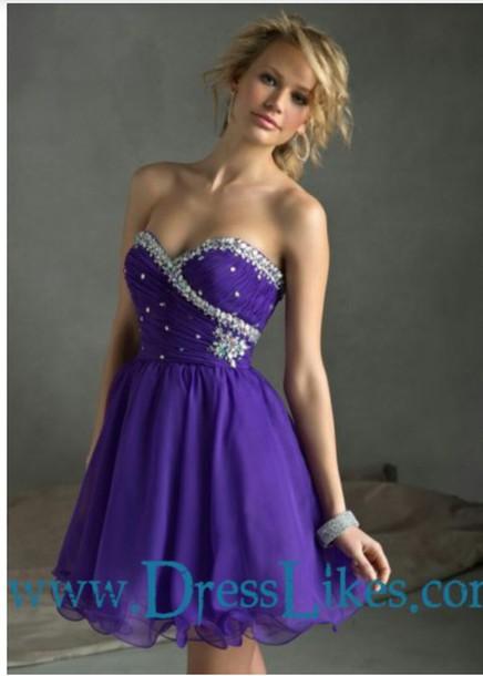 dress purple dress prom dress party dress