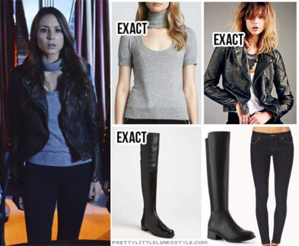 jacket spencer hastings pretty little liars shoes
