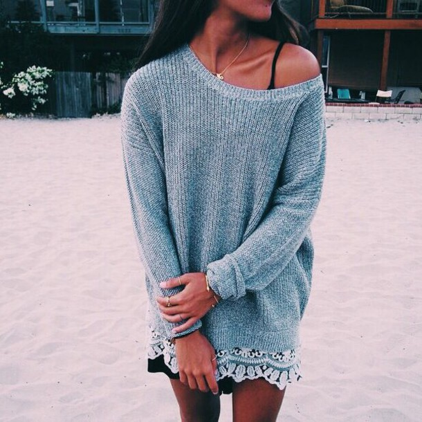 blouse shirt knitted sweater grey sequins skirt cardigan boho knit beach knitted cardigan sweater instagram dress shorts pullover lace bohemain oversized sweater