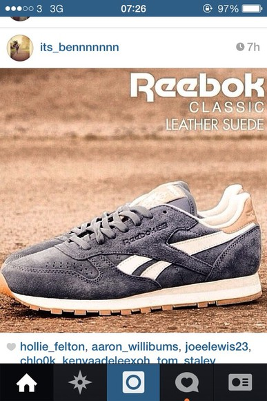 shoes Reebok trainers