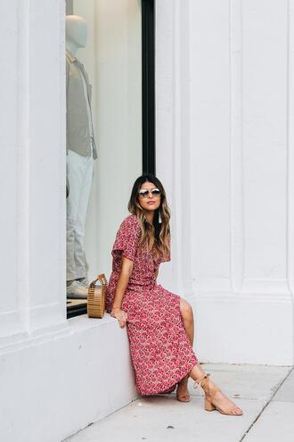 dress tumblr red dress wrap dress sandals sandal heels leather sandals maxi dress long dress shoes