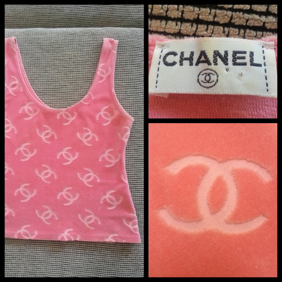 CHANEL Authentic CC Logos Iggy Azalea Iconic & by xRARExFINDSx