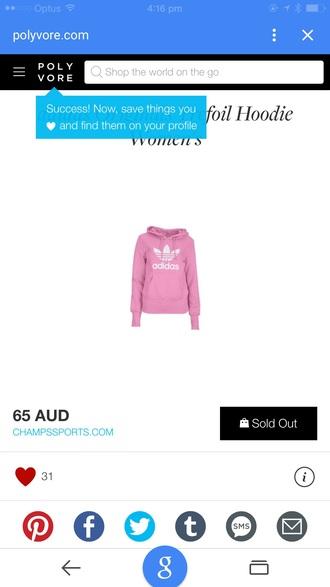 jacket pink adidas hoody original adidas originals