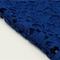 Bandeau crochet two piece bandage dress blue