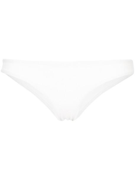 MATTEAU bikini bikini bottoms women classic spandex white swimwear