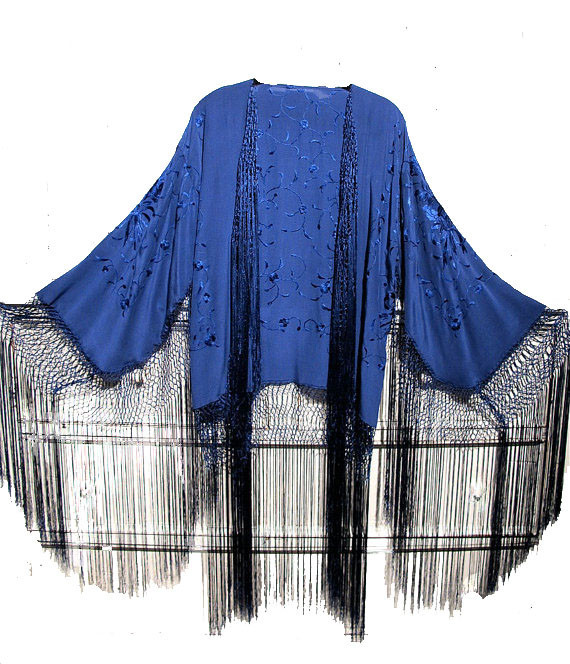 blue CHIC KIMONO – CHRISTIAN GOD CLOTHING STORE