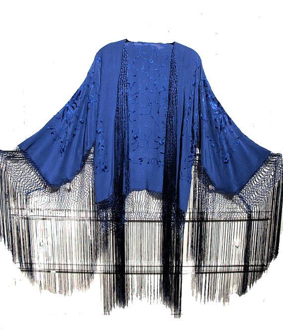 blue CHIC KIMONO – CHRISTIAN GOD CLOTHING STORE