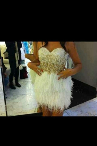 dress feather skirt prom dress helpmetofindit gorgeous dress want want want!