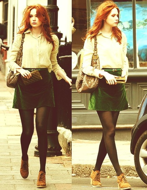 shoes green skirt velvet velours skirt