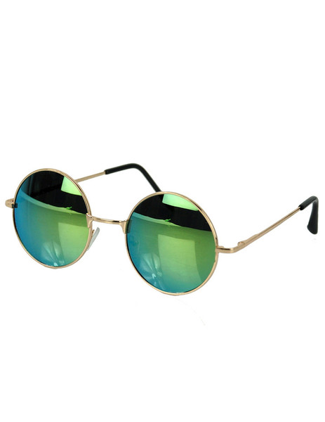 Deep reflect circle sunnies
