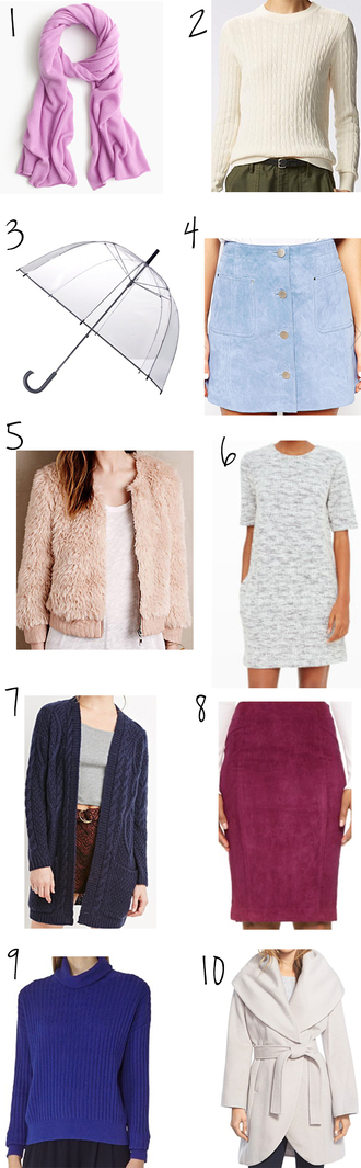 yael steren blogger scarf sweater bag skirt jacket dress cardigan coat