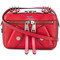 Moschino - biker crossbody bag - women - calf leather - one size, red, calf leather