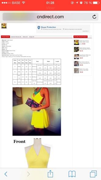 dress short dress yellow dress instagram summer dress