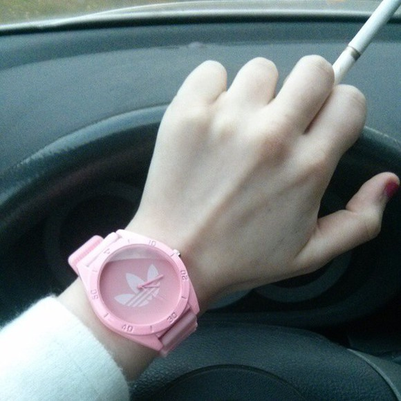 jewels watch adidas pink