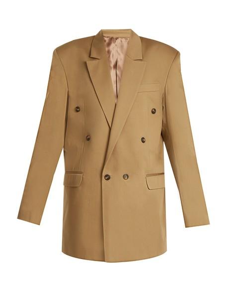 MARTINE ROSE jacket cotton khaki