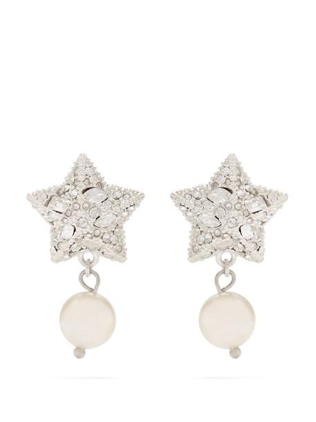 Miu Miu silver earrings earrings silver jewels