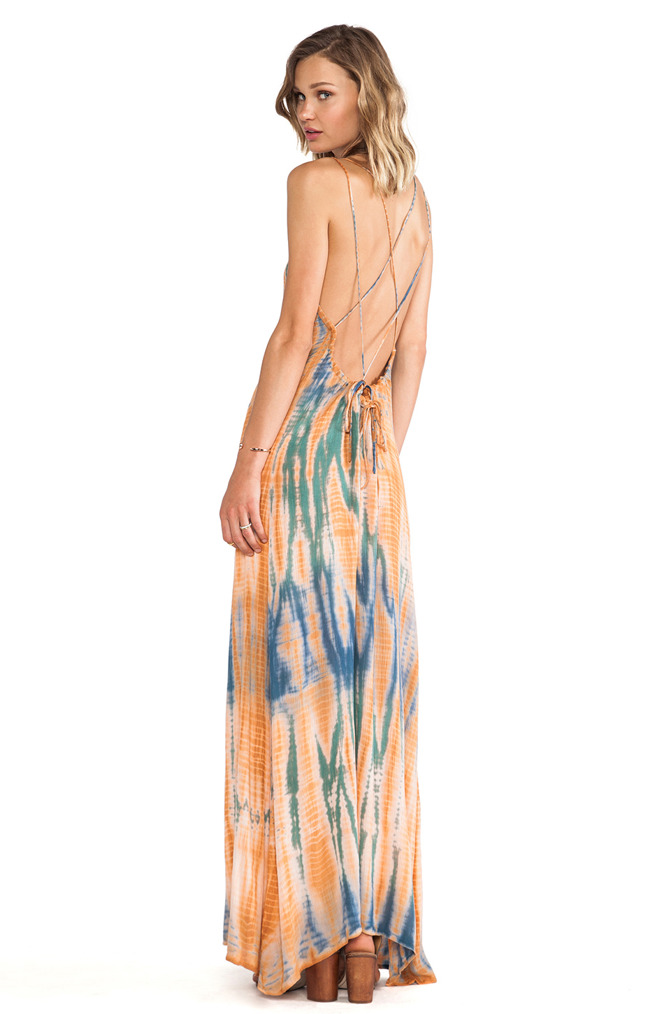 Lovers   Friends Golden Light Maxi in Tie Dye from REVOLVEclothing.com