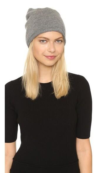 hat beanie grey