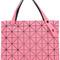 Bao bao issey miyake - 'rock' tote - women - pvc - one size, women's, pink/purple, pvc