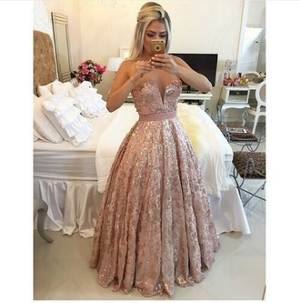 dress pink prom dress fairy tale princess dress sequin prom dress pink dress prom dress prom gown pink glitter dress