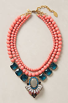 Collier plastron Gallica