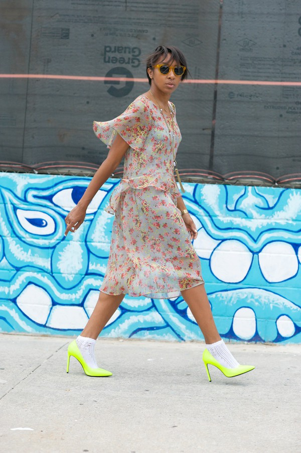 where did u get that blogger socks bag dress shoes