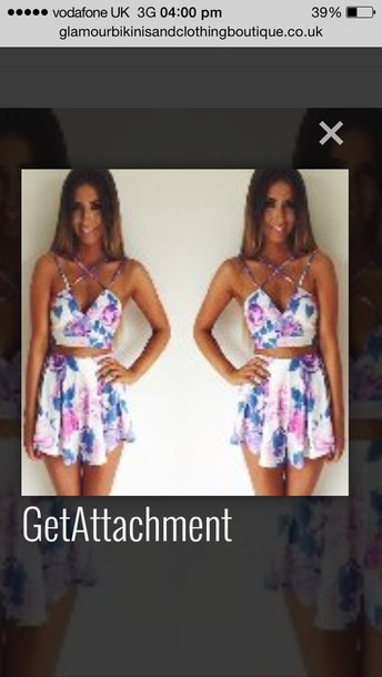 floral romper girly