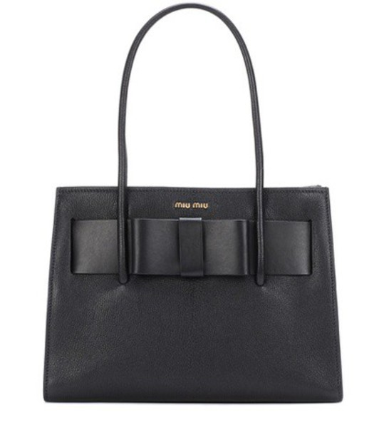 Miu Miu leather black bag