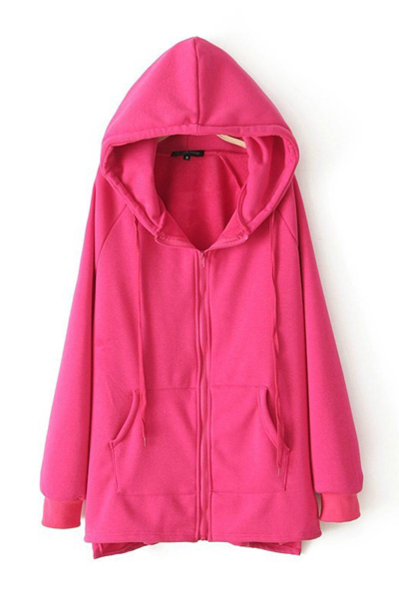 Leisure Cloth Sticking Stars Hoodie Jacket,Cheap in Wendybox.com