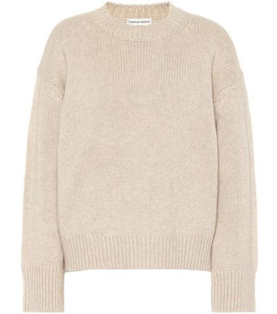 Mansur Gavriel Cashmere sweater in beige / beige