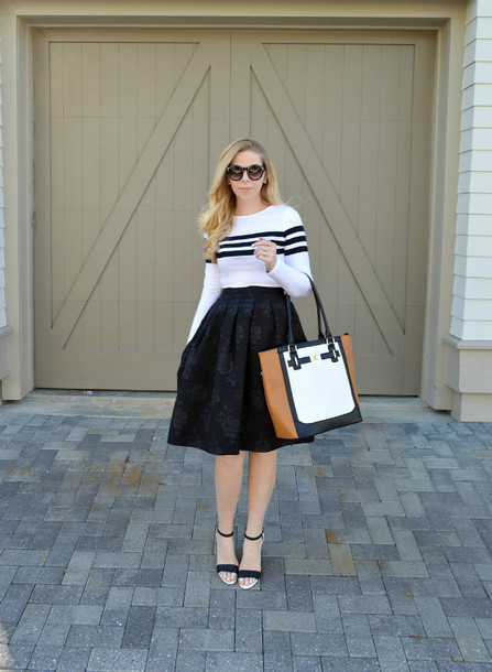 fash boulevard blogger top skirt jewels shoes bag